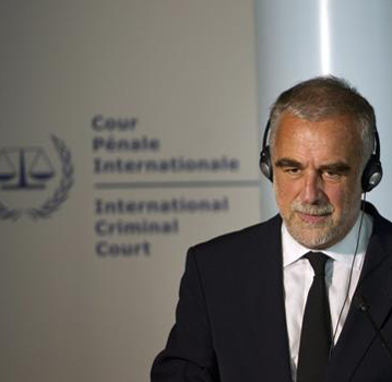 Moreno-Ocampo press conference about Libya