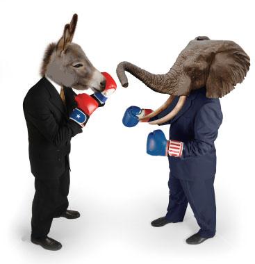 Démocrates vs Républicains