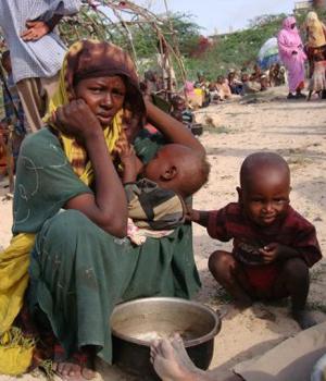 corne de l'afrique famine