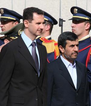 Mahmoud Ahmadinejad bachar assad