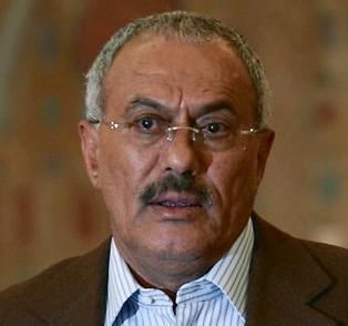 Le président Saleh
