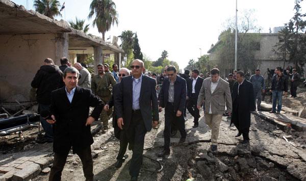 Syrie des Observateurs Ligue Arabe contestée