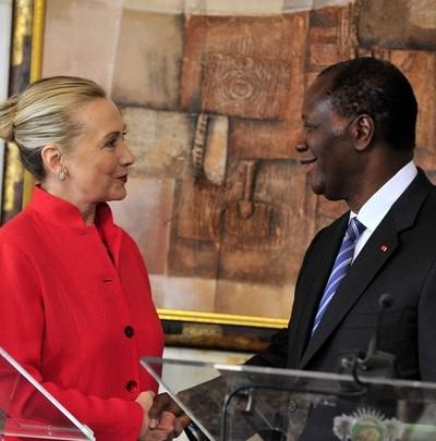 Hillary Clinton ouattara