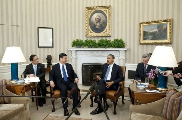 Etats-Unis- Chine Obama reçoit un probable futur homologue …