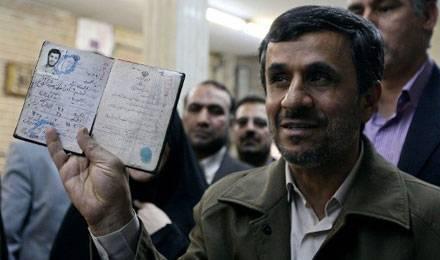 Iran Ahmadinejad affaibli après les élections législatives