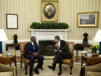 Quand le Ghana  est plébiscité par Obama
