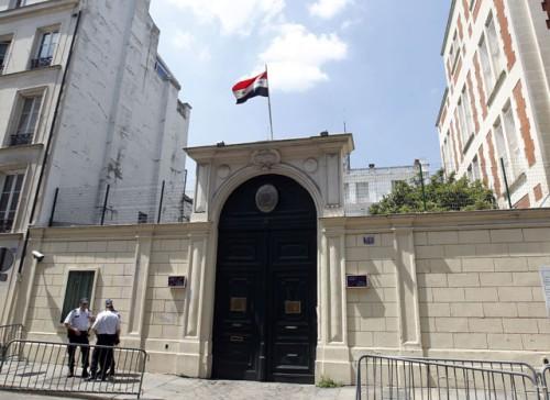 ambassade syrie paris geotribune. Black Bedroom Furniture Sets. Home Design Ideas