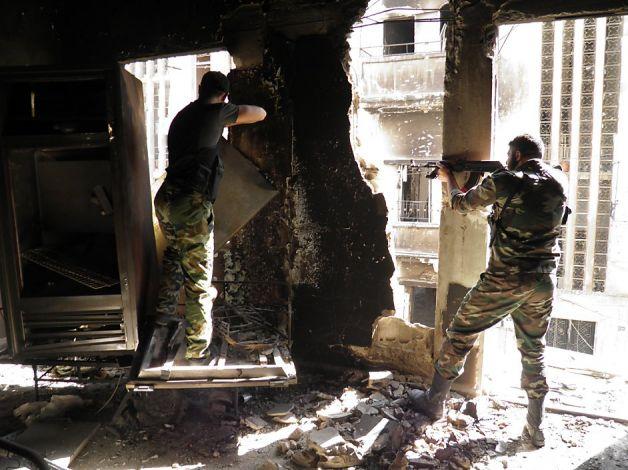 Syrie Combats à Damas, est-ce le prémisse de la fin