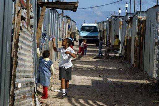 Afrique du Sud la pauvreté bat son plein