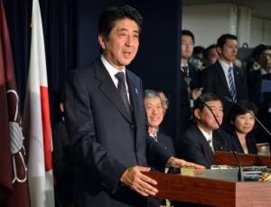 Japon Shinzo Abe nouveau Premier ministre
