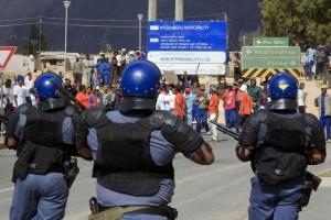 Afrique du Sud tensions sociales dans le secteur agricole