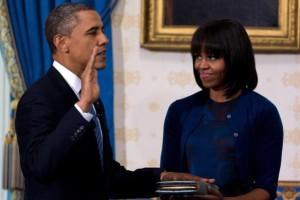 Etats-Unis Barack Obama prête serment