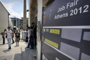 Grèce le chômage ne cesse d'augmenter