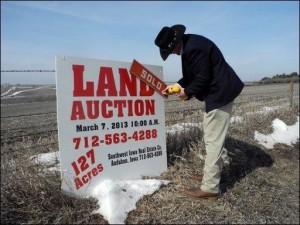 Etats-Unis les terrains agricoles coutent plus chers
