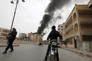 La Syrie L'ombre des armes chimiques
