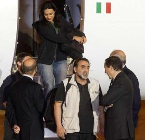 SIRIA: RIENTRATI A ROMA I 4 GIORNALISTI ITALIANI LIBERATI