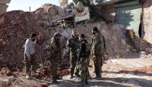 الجيش السوري يبدأ عمليات شرسة في يبرود