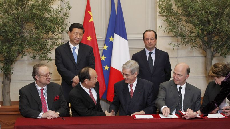 HOLLANDE XI JINPING