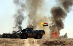 Operation against Daesh militants in Iraq's Tikrit