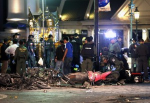 Scores of casualties reported as explosion rocks central Bangkok