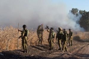 DES ROQUETTES TIRÉES DE SYRIE TOMBENT DANS LE NORD D'ISRAËL