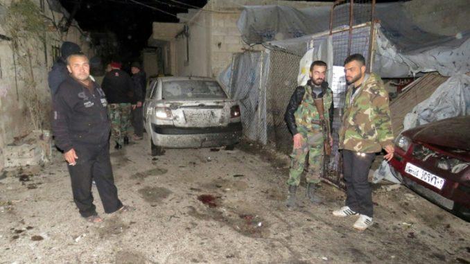 Syrie. Plusieurs explosions sur la base militaire de Mazzé