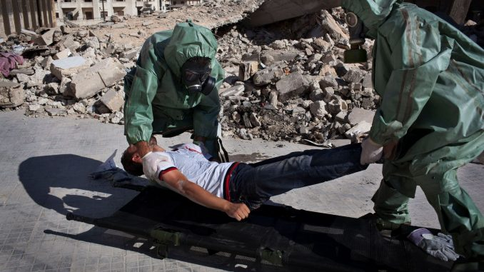 Human Rights Watch accuse Damas d'avoir utilisé des armes chimiques contre Alep