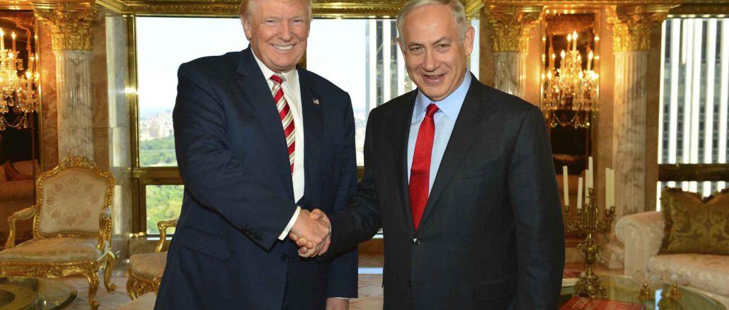 donald-trump-premier-ministre-israelien-benjamin-netanyahou