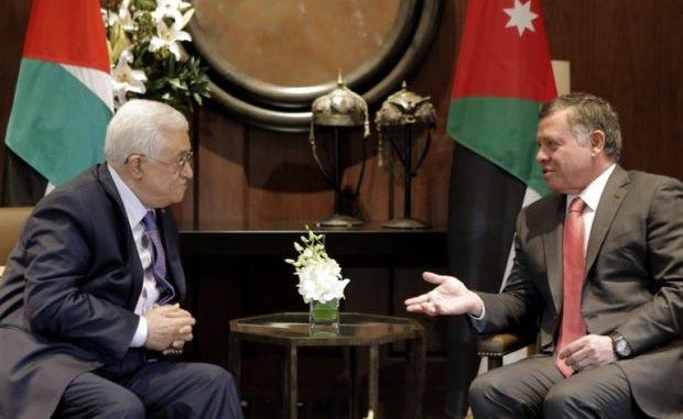 Le roi de Jordanie et Mahmoud Abbas discutent des tensions à Jérusalem