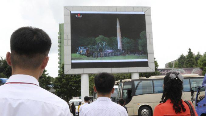 Le nouveau missile de Pyongyang pourrait atteindre New York et Washington