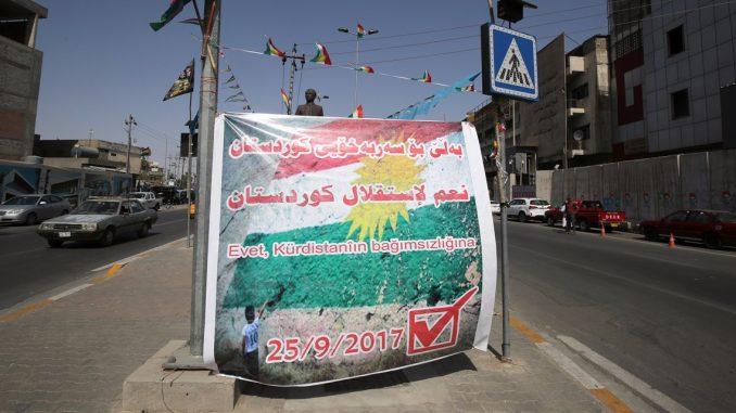 Opérations militaires de Bagdad dans la province de Kirkouk — Irak