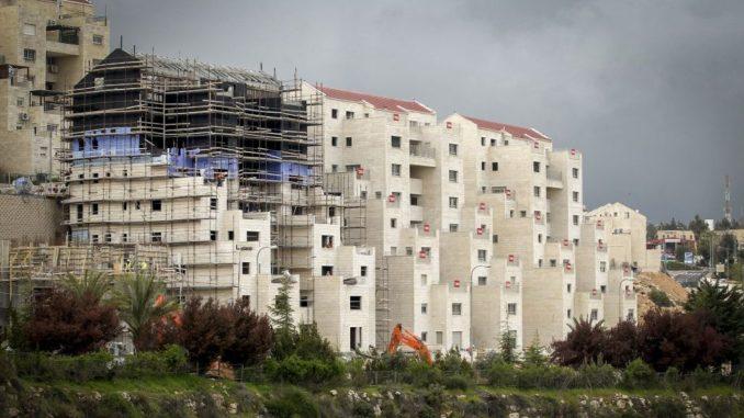 Palestine.Israël approuve plus de 1.100 nouveaux logements de colons