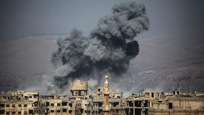 Plus de 220 civils tués dans des bombardements intensifs — Syrie