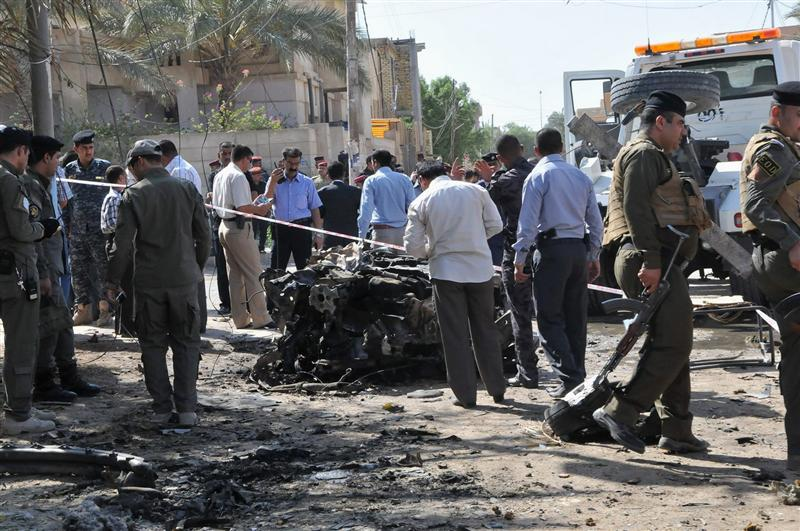 VAGUE D'ATTENTATS MEURTRIERS EN IRAK